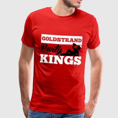 GOLDSTRAND PARTY KINGS - Men's Premium T-Shirt