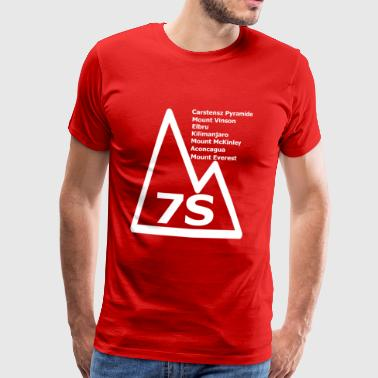 Summit Mountain Hiking Seven Summits 7 mountains climbing - Men's Premium T-Shirt