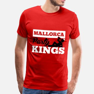 Sex Espagne MALLORCA PARTY KINGS - T-shirt Premium Homme