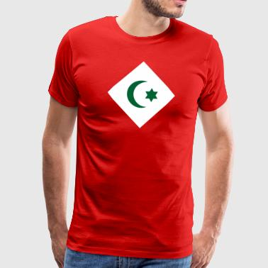 Amazigh Republic of the Rif flag shirt - Men's Premium T-Shirt