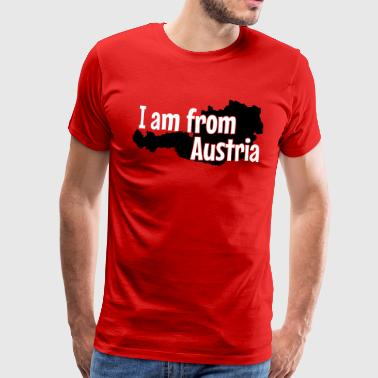 Austria I am from Austria - Männer Premium T-Shirt