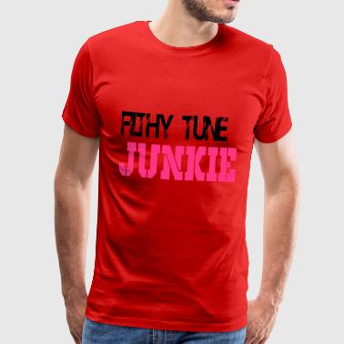 filthy junkie - Men's Premium T-Shirt
