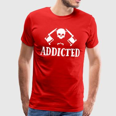 Tattoo addicted  - Men's Premium T-Shirt