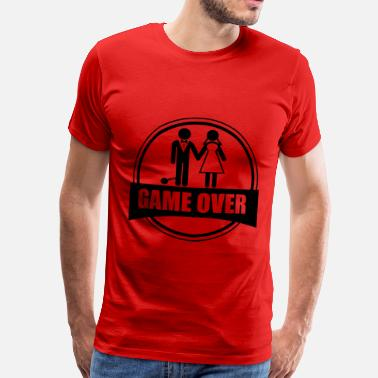 Gamer Vittigheder Game over - Stag do - Hen party - Funny - Herre premium T-shirt