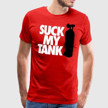 Diving: Suck my tank - T-shirt Premium Homme