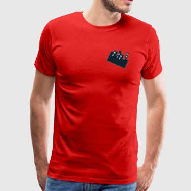 My Highrise (Red) - Men's Premium T-Shirt