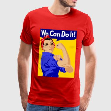 Vintage we can do it - Men's Premium T-Shirt