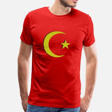 Ottoman Empire Ottoman Crescent Moon Design Turkey - Men's Premium T-Shirt