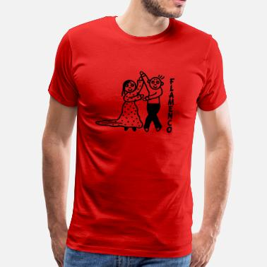 Flamenco Dancer Flamenco dancer - Men's Premium T-Shirt