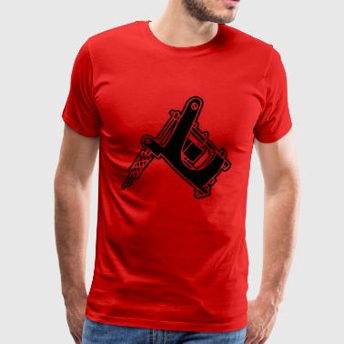 Tattoomaschine Tattoomachine tattoo machine Ink - Men's Premium T-Shirt