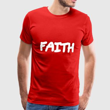 Faithful Faith - Faith - Men's Premium T-Shirt