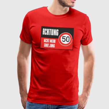 For the 50th birthday - Men's Premium T-Shirt