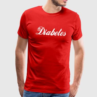diabetes - Men's Premium T-Shirt