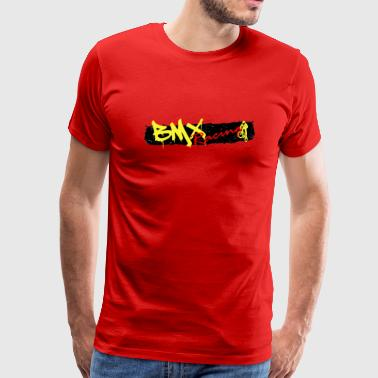 BMX Racing Tee - Men's Premium T-Shirt