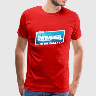 Swimming / Swimmer: Best Swimmer In The Galaxy - Men's Premium T-Shirt