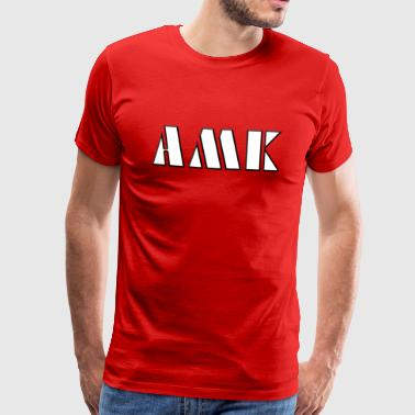 AMK - slang - youth language - Men's Premium T-Shirt