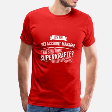 Account Manager Key Account Manager - Männer Premium T-Shirt
