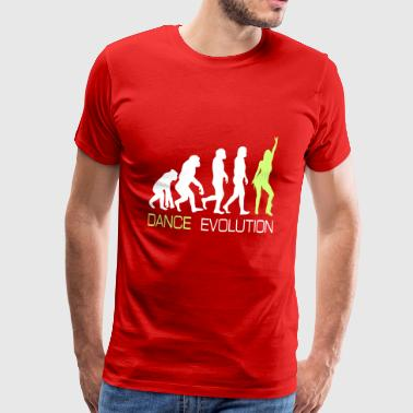 Dancing Dancer Party Evolution T-Shirt Gift - Men's Premium T-Shirt