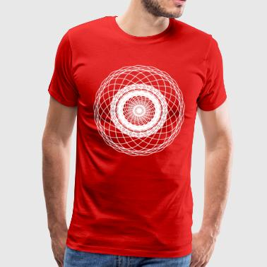 Net mandala - Men's Premium T-Shirt