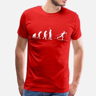 Ski Evolution Ski Cross - T-shirt Premium Homme
