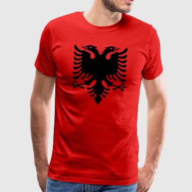 black albanian eagle Eagle - Men's Premium T-Shirt