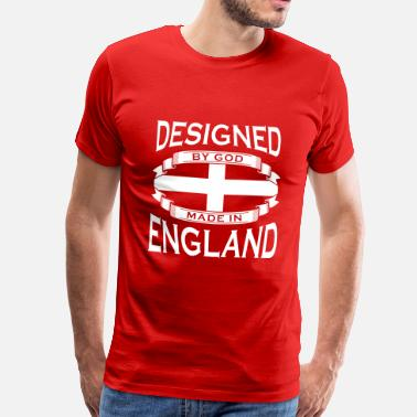 Made In England Designed by God - Made in England - Men's Premium T-Shirt