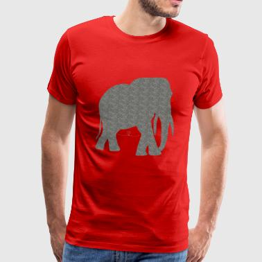 strong elephant - Men's Premium T-Shirt