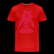 Valentinstag Bär Mit Herz Pärchen Mann Frau Liebe T Shirt | Spreadshirt