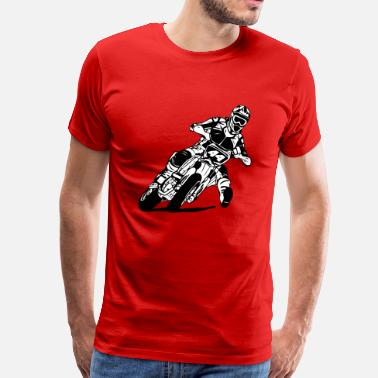 Supermoto - Supermotard - Men's Premium T-Shirt
