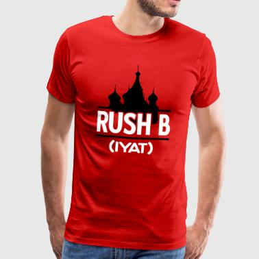 gamer shirt: rush blyat - Men's Premium T-Shirt