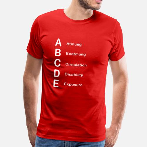 abcde schema m nner premium t shirt spreadshirt. Black Bedroom Furniture Sets. Home Design Ideas