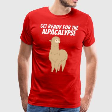 Ready for the Alpaca Alpaca Alpaca Cool - Men's Premium T-Shirt