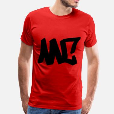Rap Graffiti MC - HipHop. Graffiti. rap - Men's Premium T-Shirt