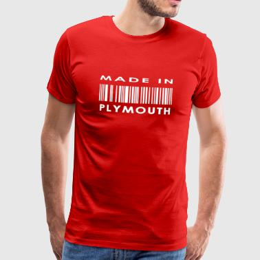 Made in Plymouth - Men's Premium T-Shirt