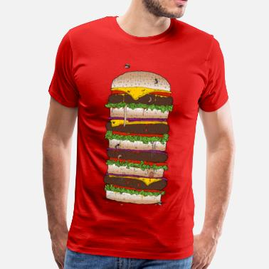 King Giant Burger - Men's Premium T-Shirt