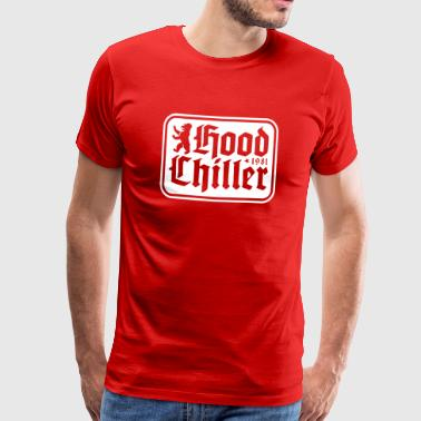 Plaque Hood Chiller Berlin - Herre premium T-shirt