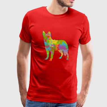 Mudi Mudi rainbow - Men's Premium T-Shirt