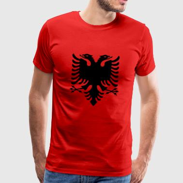 Albania Original Flag - Men's Premium T-Shirt