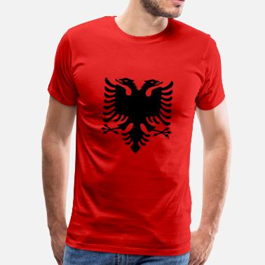 Albania Albania Original Flag - Men's Premium T-Shirt