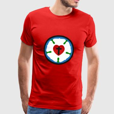 luther rose - Premium-T-shirt herr