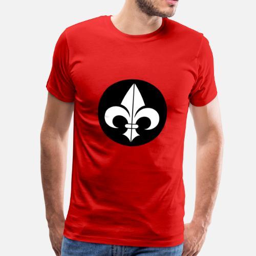 673a138d1e175 Fleur de Lys T-shirt premium Homme   Spreadshirt