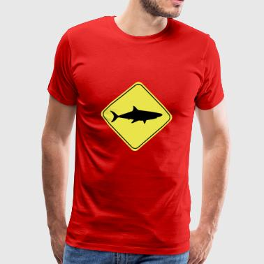 Shark Sign - Men's Premium T-Shirt