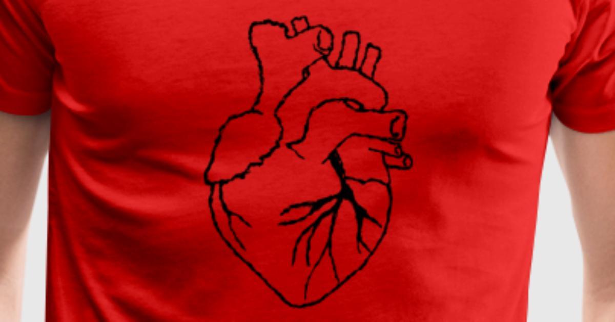 Menschliches Herz von Roksana96   Spreadshirt
