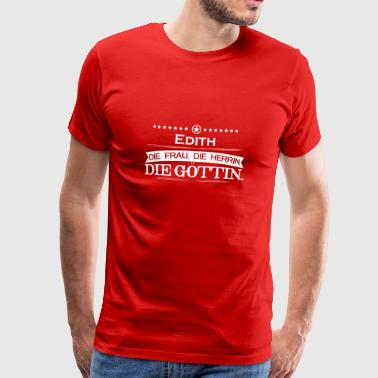 gift mythos goettin legend Edith - Men's Premium T-Shirt