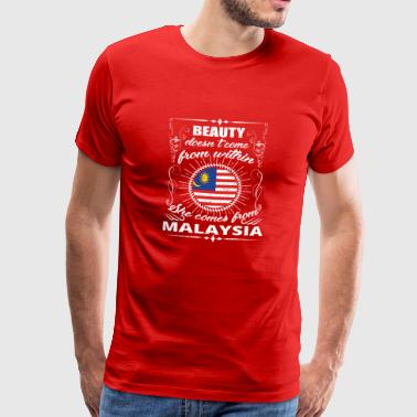 beauty comes from MALAYSIA png - Men's Premium T-Shirt