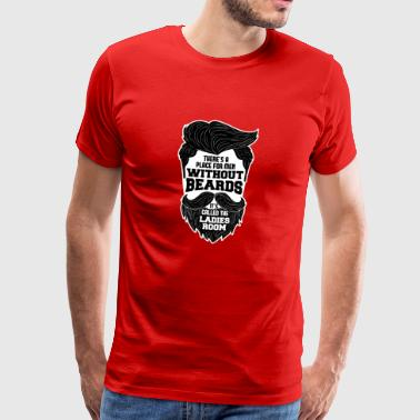 WITHOUT BEARDS - Männer Premium T-Shirt