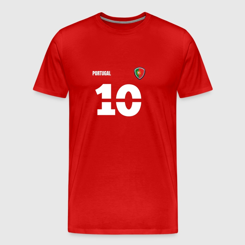 Portugal jersey retro jersey 2018 Style - Men's Premium T-Shirt