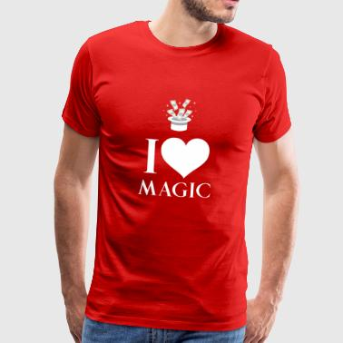 Magician - Sorcery - Magic - Magic Hat - Spellcasting - Men's Premium T-Shirt