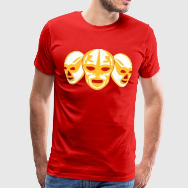 Lucha Mask lucha libre masks - Men's Premium T-Shirt