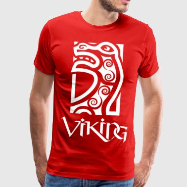 Viking figuehead - Men's Premium T-Shirt